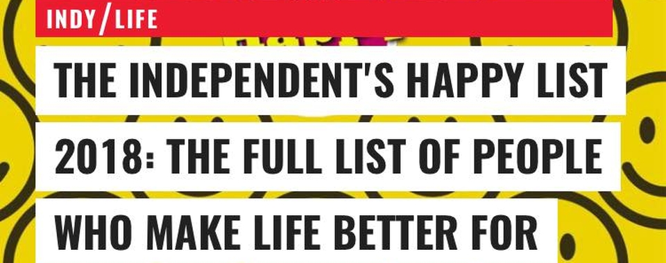 The Happy List…